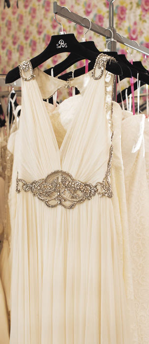 Second Summer Bridal Gown