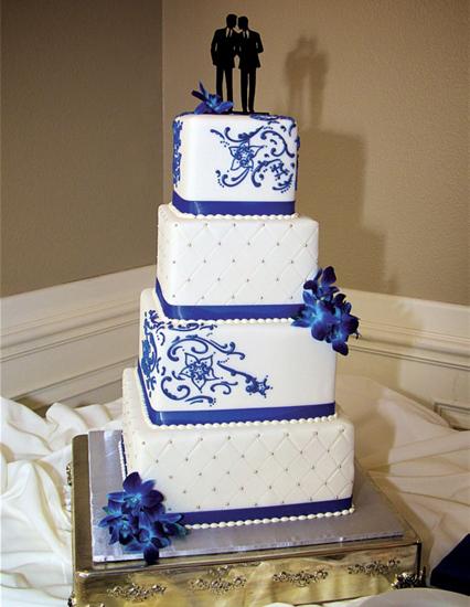 Cake from René and Jordan