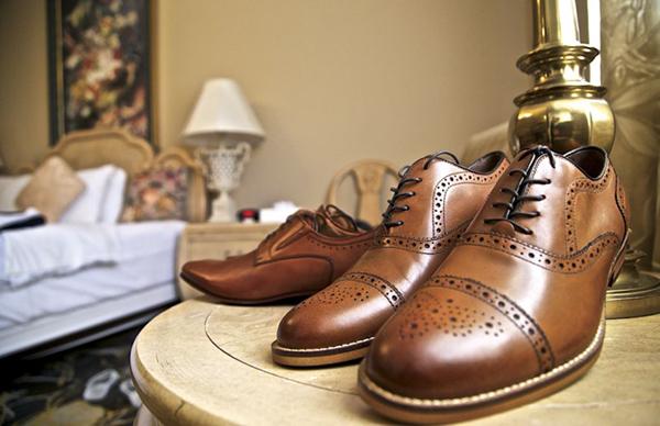 Shoes of René and Jordan