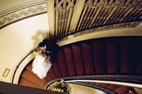 Grand Island Mansion Stairs