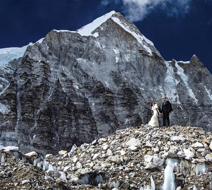 Mount Everest Wedding Base Camp