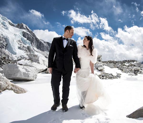 Mount Everest Wedding