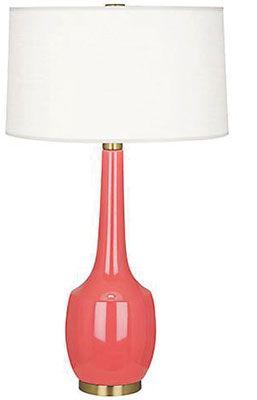 """A STYLISH LAMP—""""One of the best wedding presents I got was a lamp. I kept it for years, then gave it to my daughter when she went off to college.""""Look for it at: Lumens Light& Living, 2028 K St."""