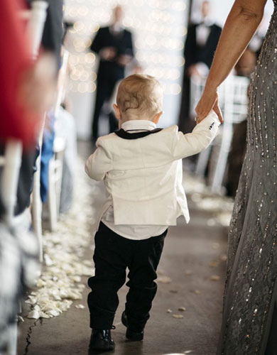 The Ring Bearer for Chrstina and Chris