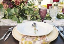 STYLING, DESIGN & FLORALS: Jenn Robirds Events