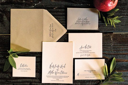 Rustic stationary from Aerialist Press