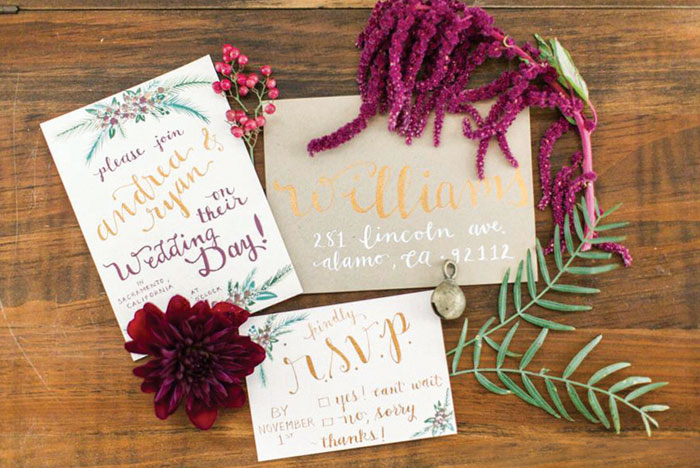 Stationery, Signage & Calligraphy: Steele My Heart
