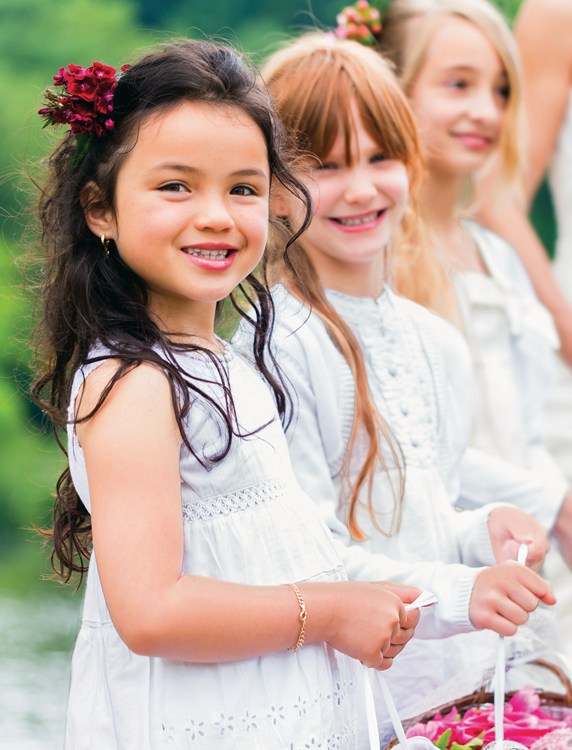 children wedding parties