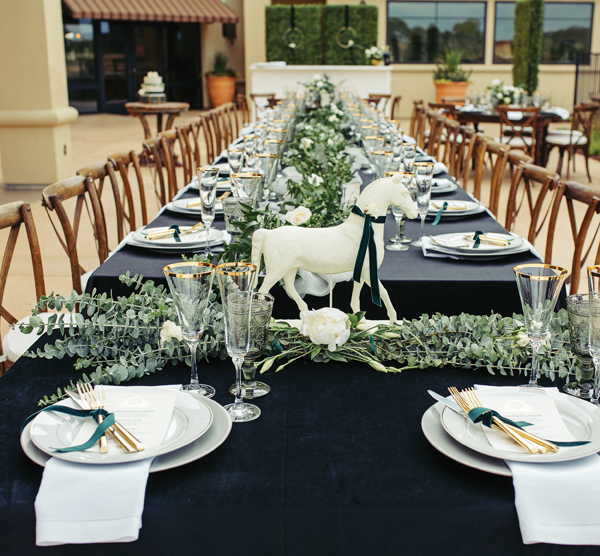 Equestrian Chic Table