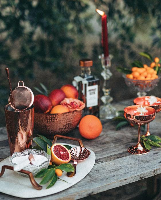 citrus and copper